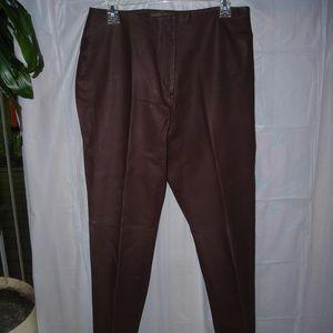 Ladies Leather pants,sz.12, Brandon Thomas,